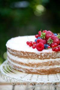 tort z kremem milky way