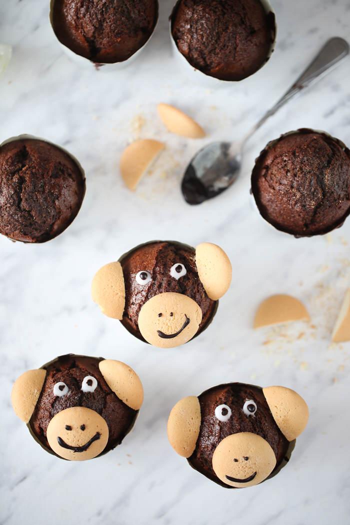 Muffinki małpki