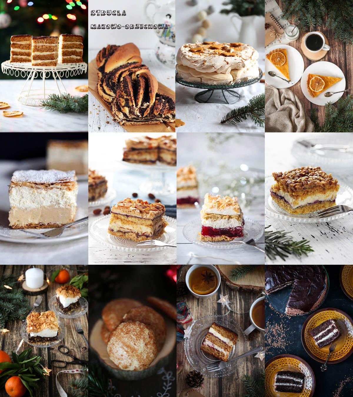 Boże Narodzenie ciasta