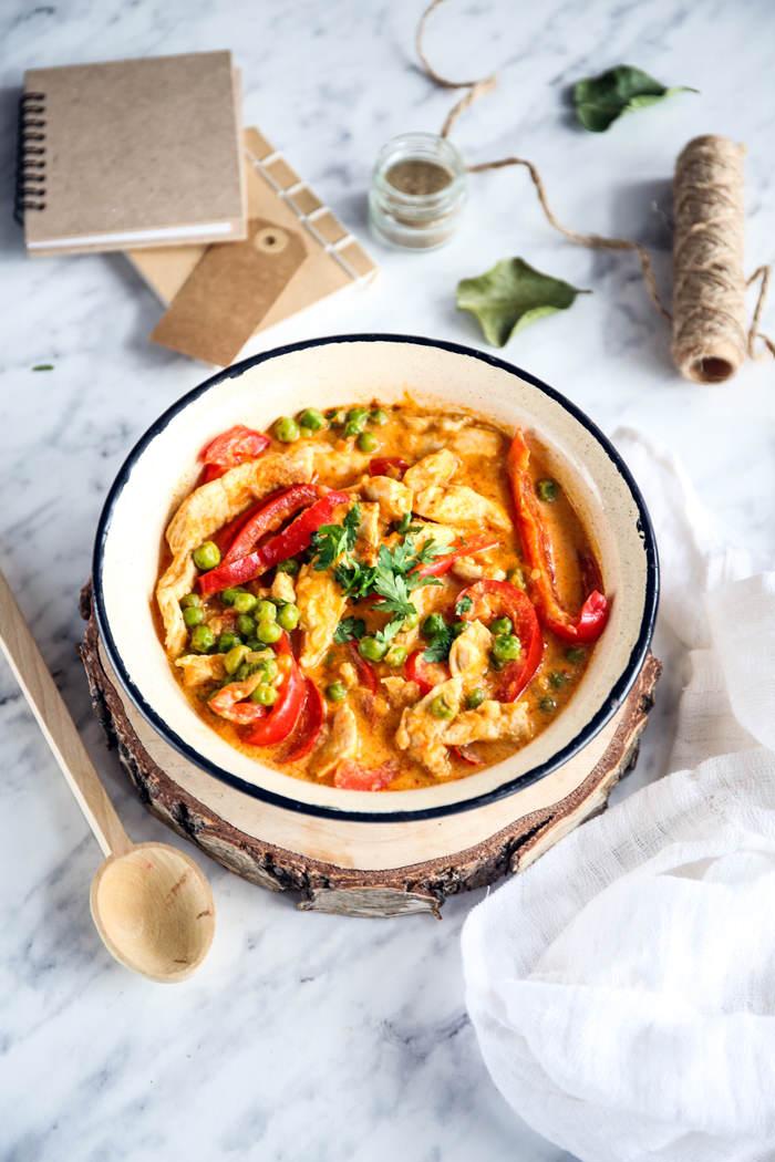 Kurczak curry przepis