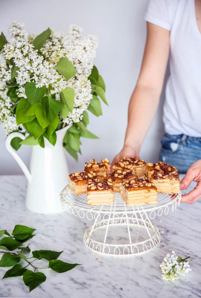 Snikers ciasto bez pieczenia