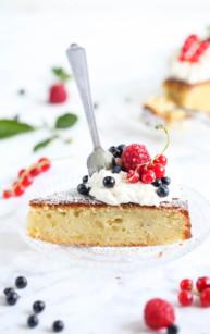 Kronans kaka – szwedzkie ciasto migdałowe