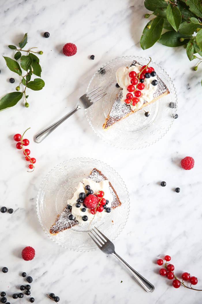 Szwedzkie ciasto migdałowe przepis
