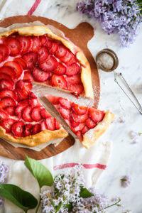 Zdrowa tarta z owocami przepis