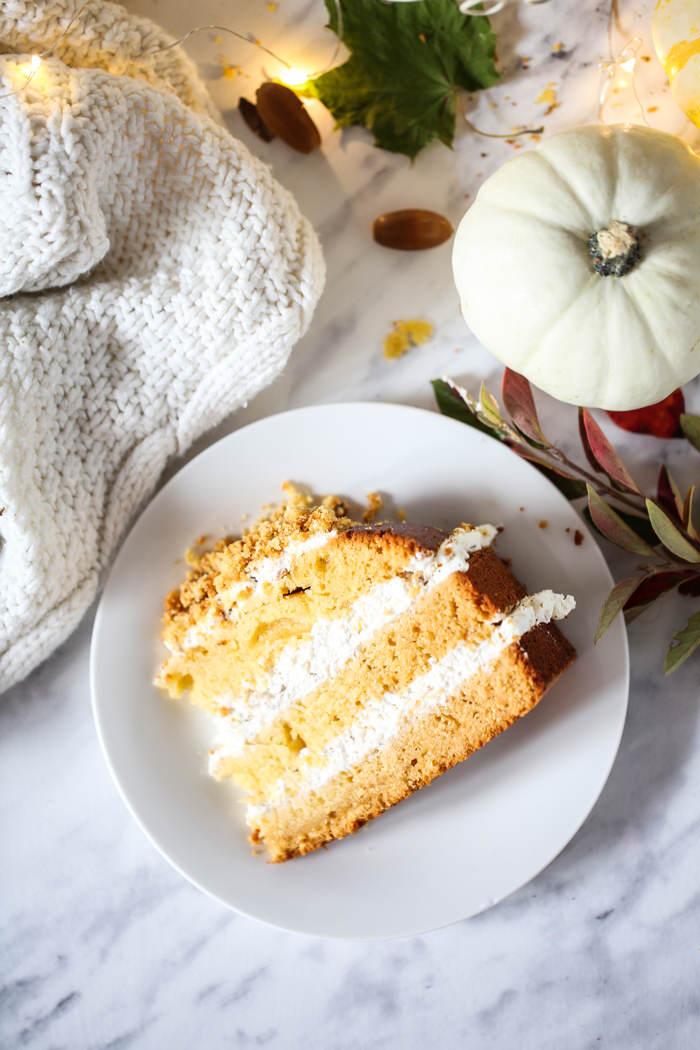 Ciasto z dynią i orzechami przepis