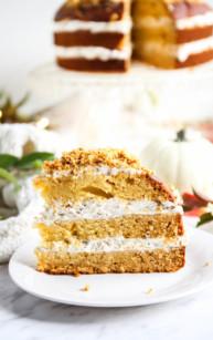 Ciasto dyniowo-miodowe