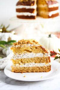 Ciasto z dynią miodem i orzechami