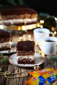 Bożonarodzeniowe ciasto