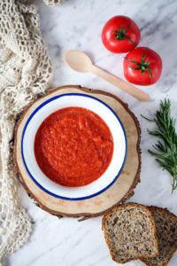 Krem z pomidorów przepis