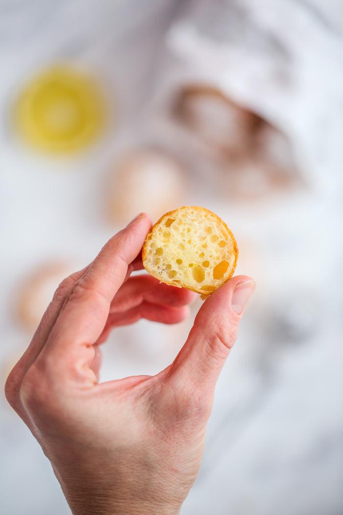 Cytrynowe pączusie z mascarpone