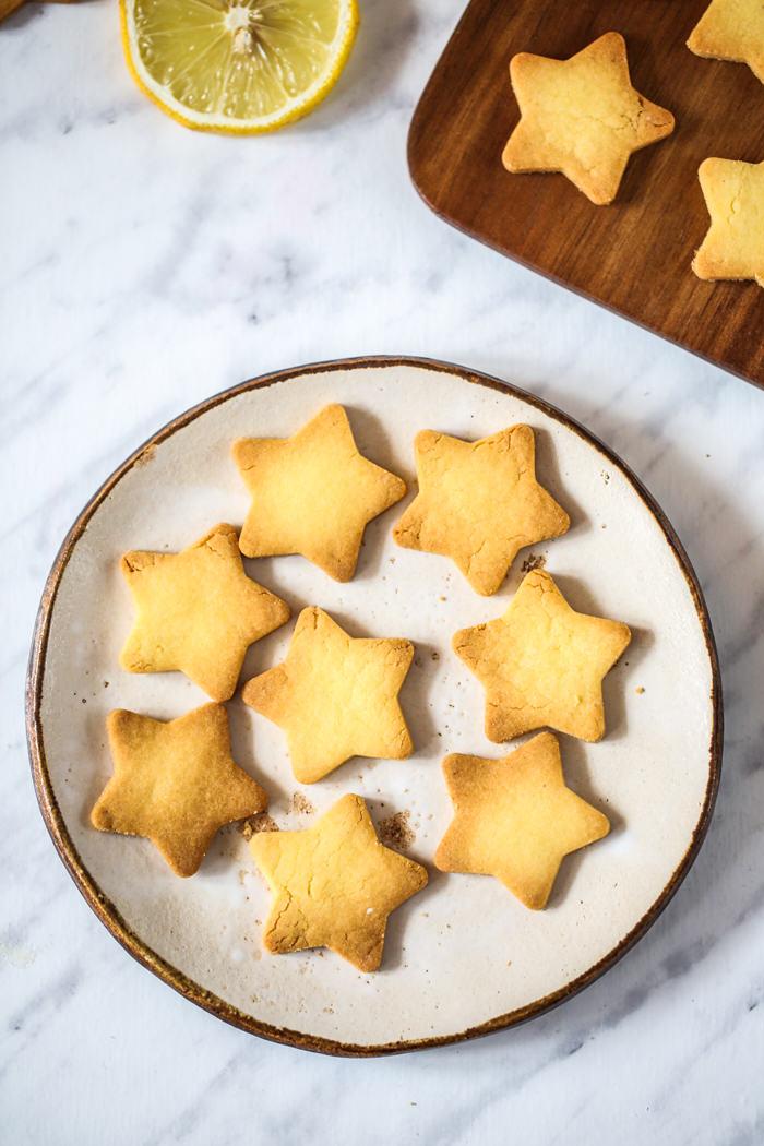 Waniliowe ciasteczka bezglutenowe