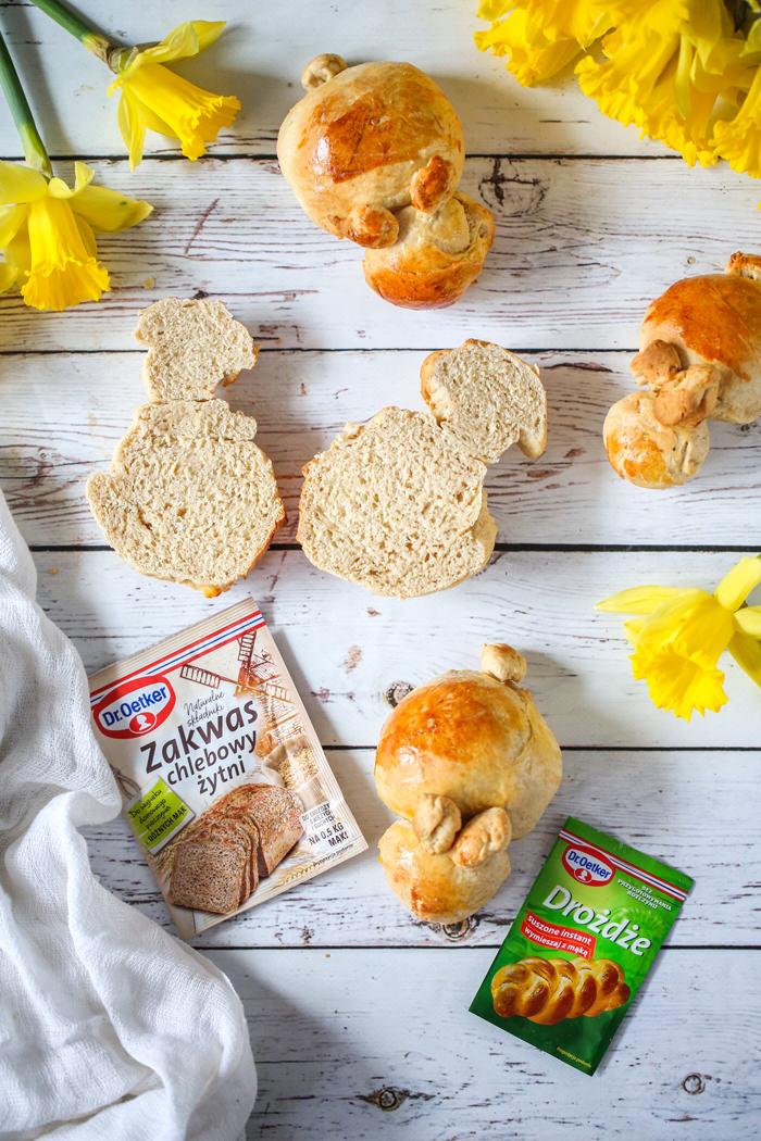 Chlebki do święconki przepis