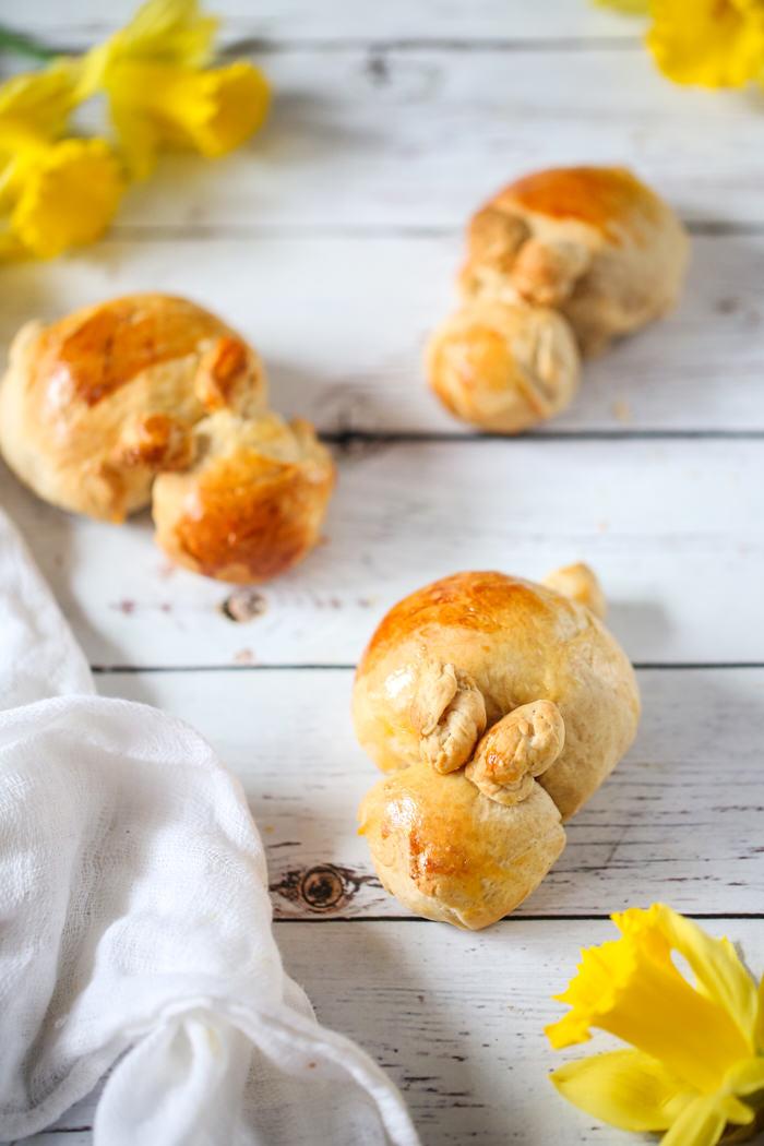 Chlebowe zajączki