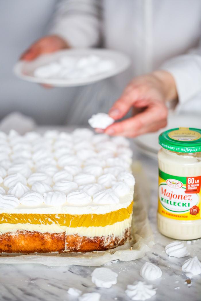 Ciasto z majonezem przepis
