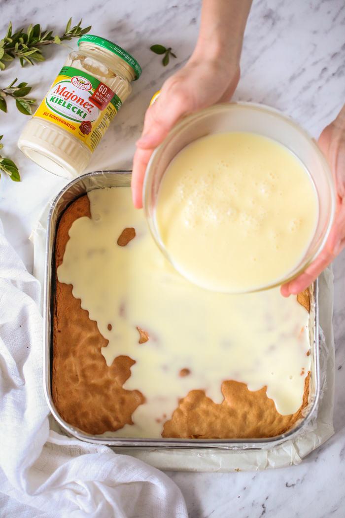 Ciasto z majonezem