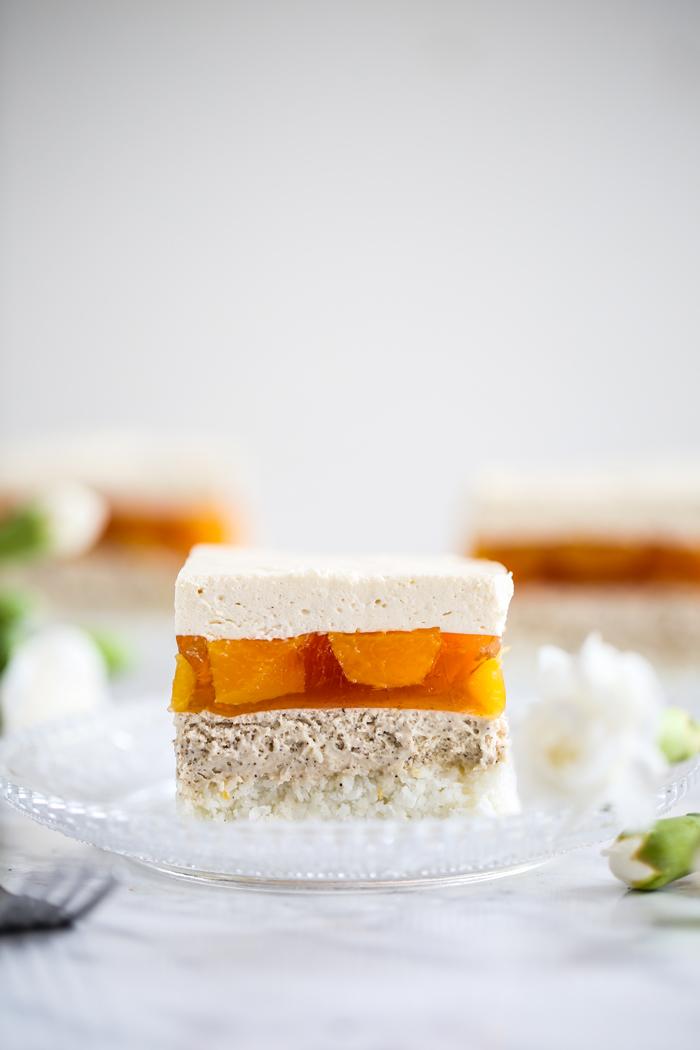 Ciasto Delicja z brzoskwiniami