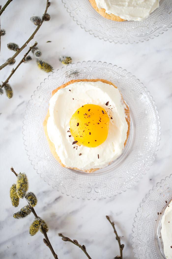Ciastko jajko sadzone