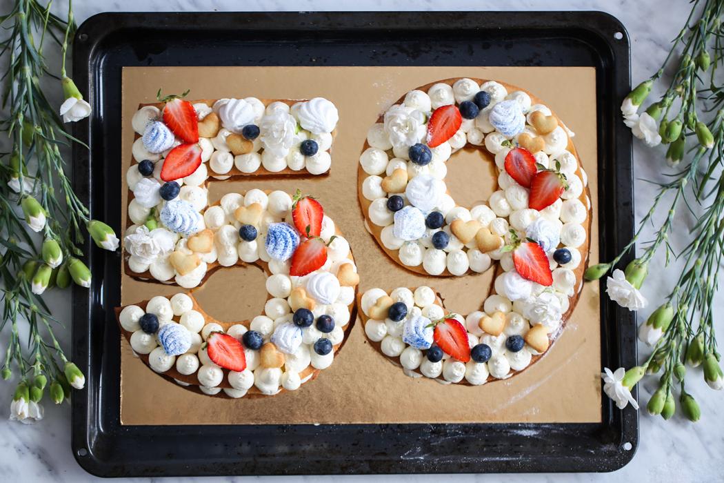 Number Cake jak zrobić
