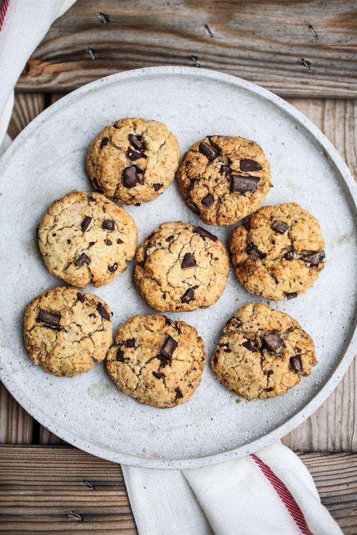 fit ciasteczka z czekoladą