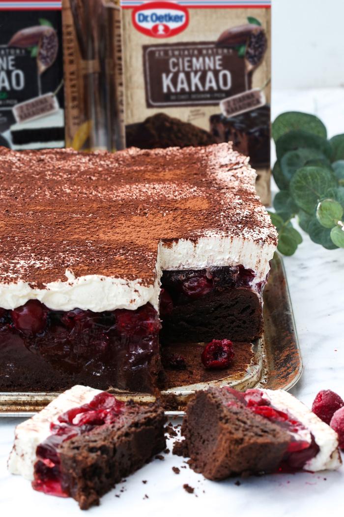 Kostka wiśniowa ciasto