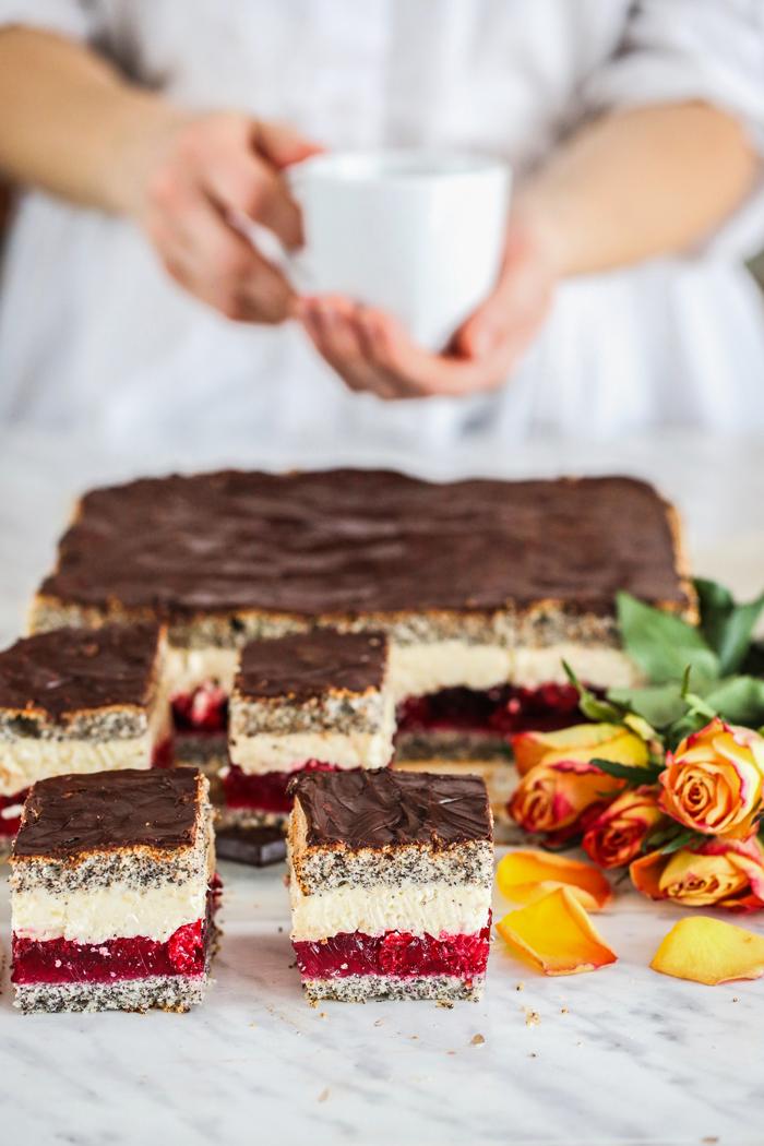 Ciasto kostka makowa