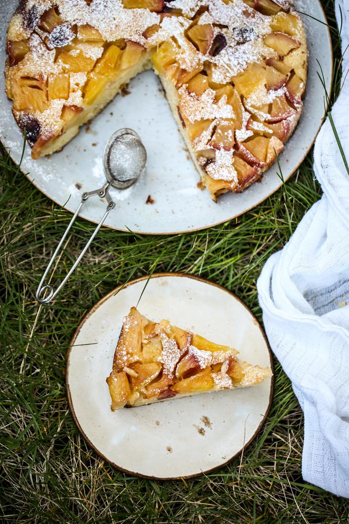 Odwrócone ciasto z jabłkami