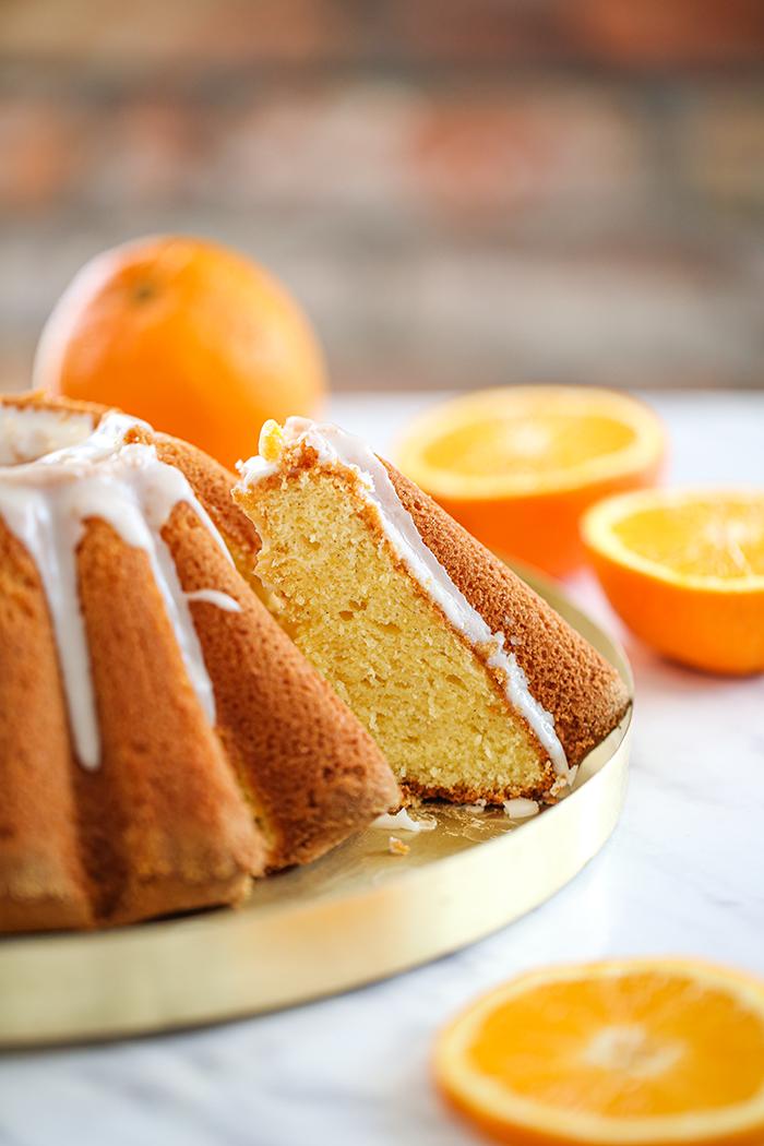 Pomarańczowa babka