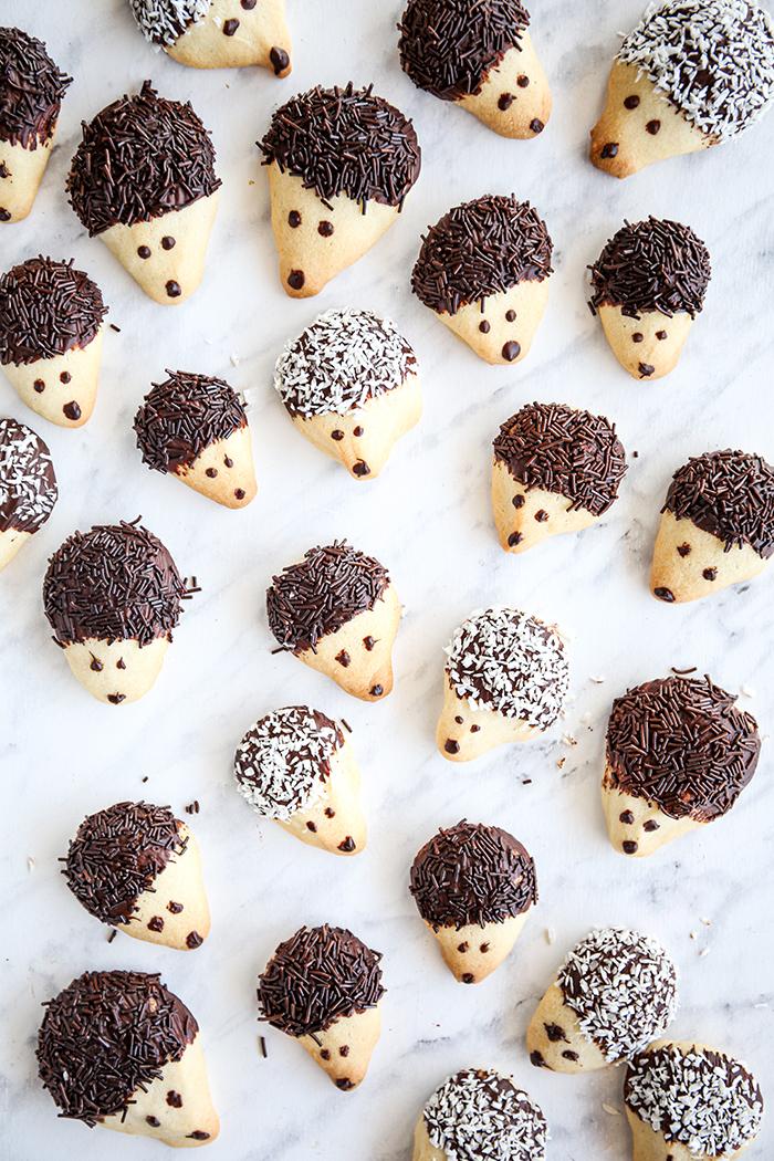 Ciasteczka dla dzieci jeżyki