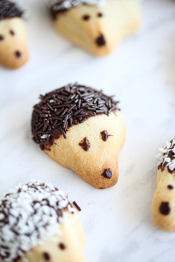 Kruche ciasteczka jeżyki