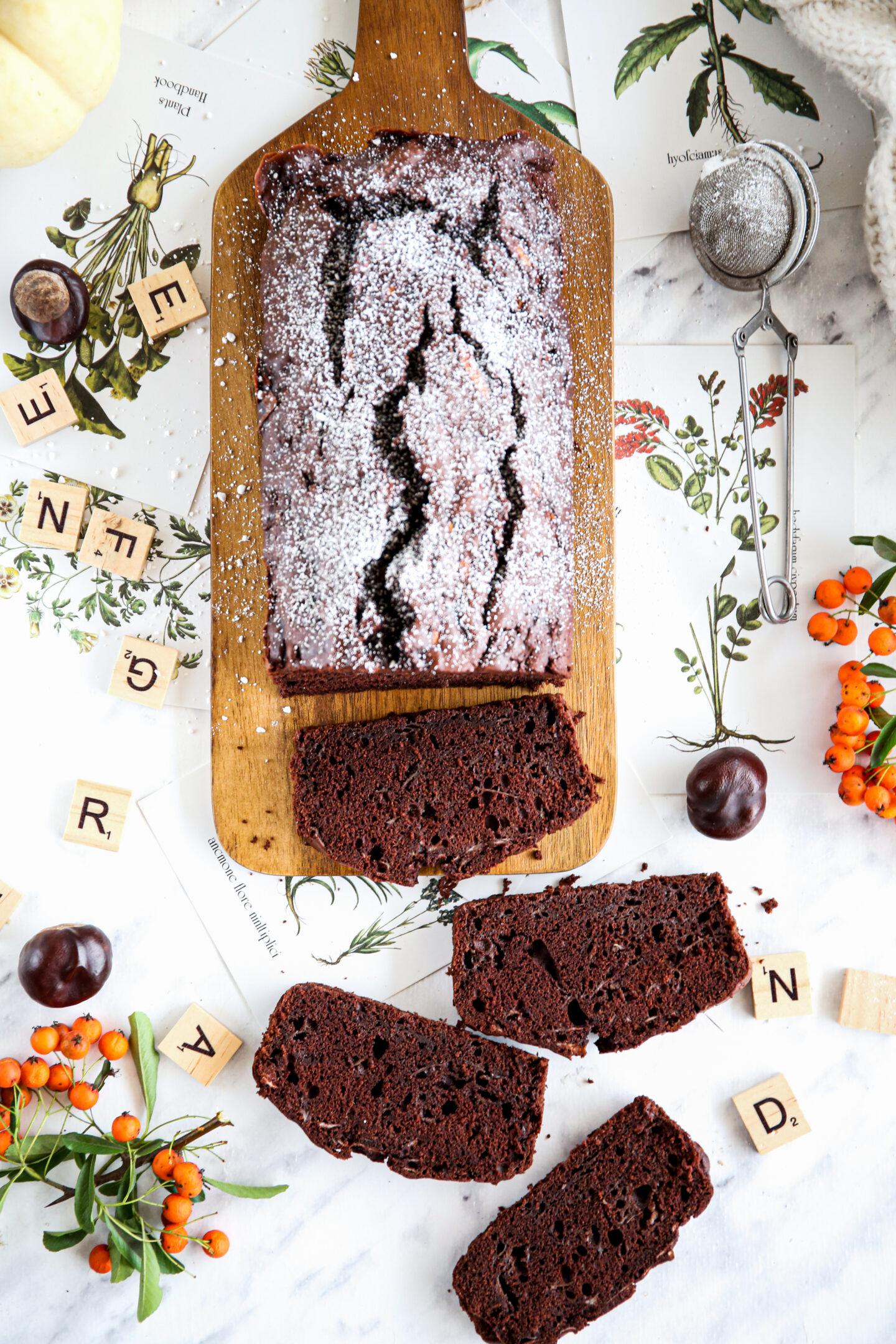 Czekoladowe ciasto z białek przepis